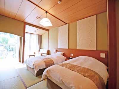 *【別館_和室】2017年5月にリニューアルした別館【禁煙】和室。お部屋に温泉はついていません