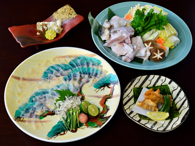 *【淡路3年とらふぐてっちりコース】冬季限定の味をお楽しみください。