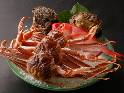 *季節限定【蟹づくしプラン】茹で・焼き・雑炊・しゃぶしゃぶなど様々な調理方で蟹を食べつくしてください。