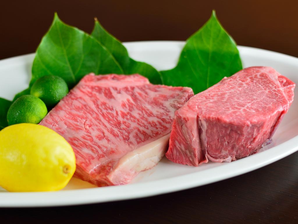 *【神戸牛ステーキプラン】ロースまたはヒレをお選びいただけます
