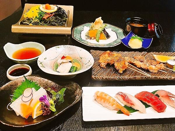 山口県名物をたくさん取り入れた御夕食♪きっとご満足いただけます(o^—^o)