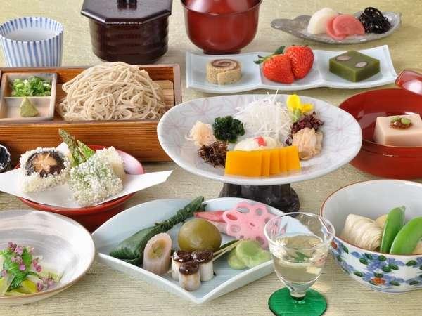 ヘルシーで美味な旬菜精進(イメージ)