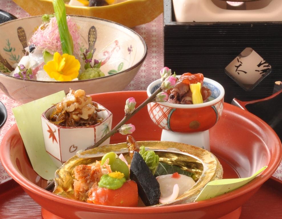春の京風会席料理(イメージ)