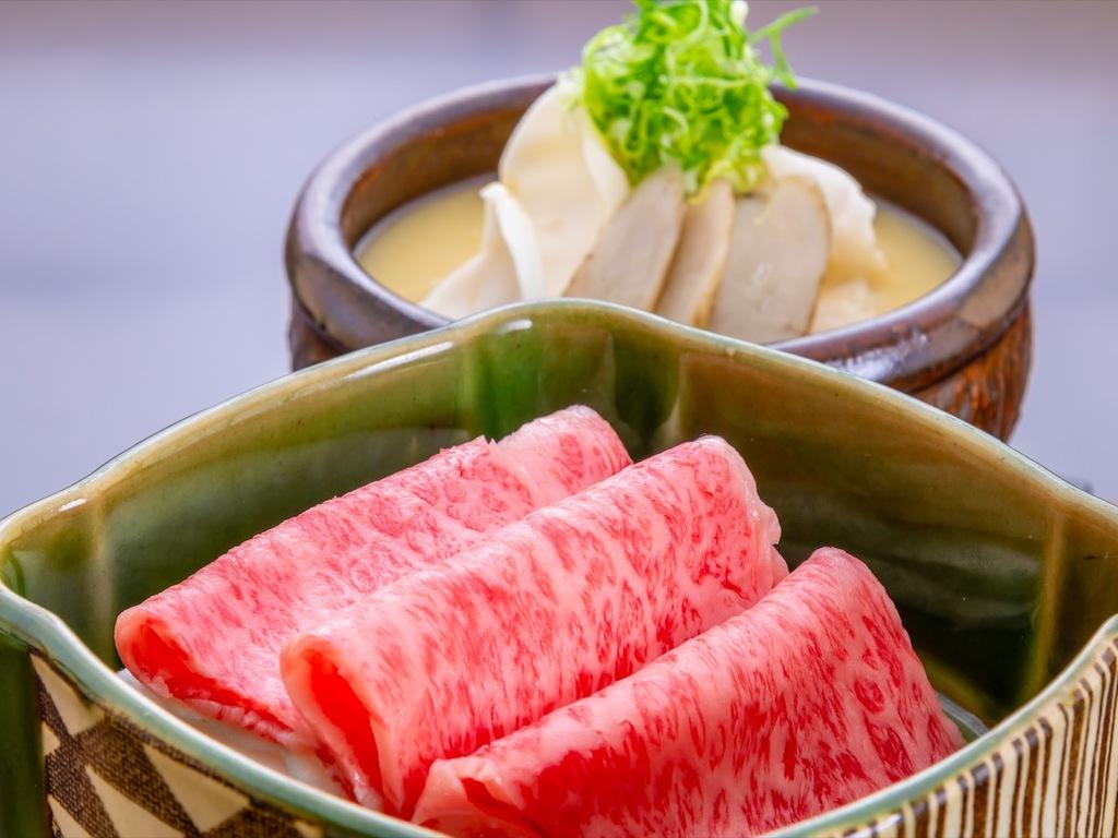 神戸牛の一品例