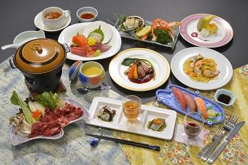 夕食お料理(一例)