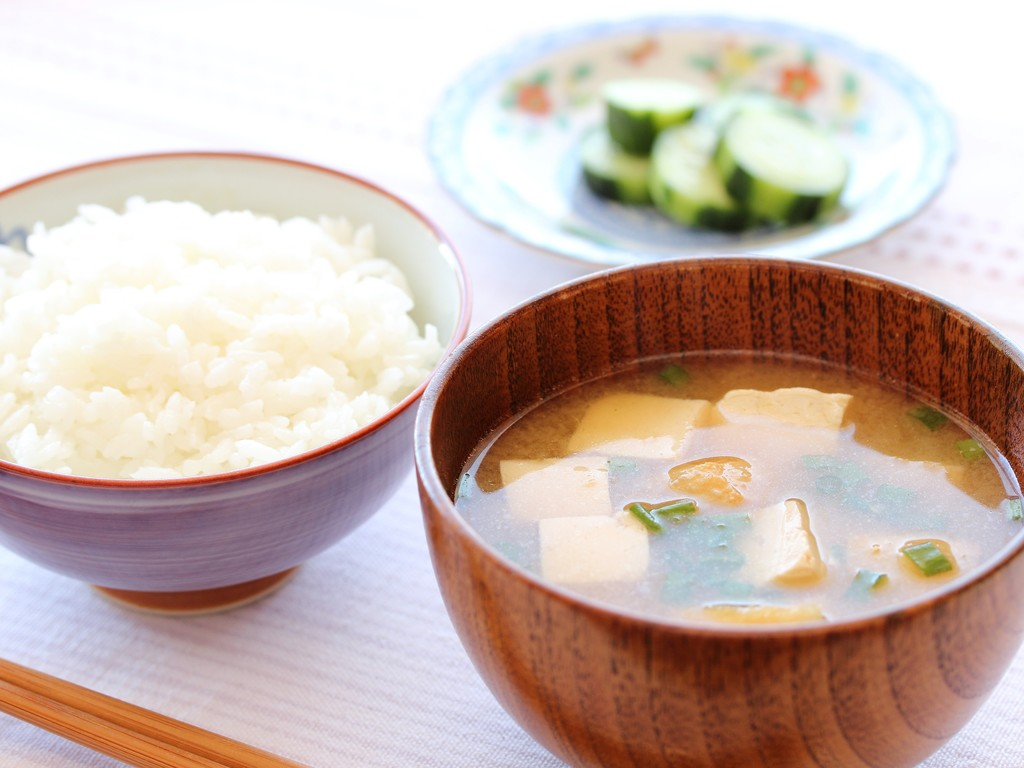 ご飯とお味噌汁で、良い1日のスタートを!