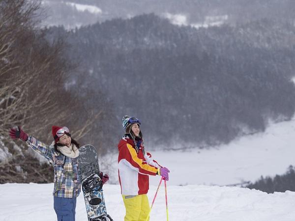 待ってました!スキーシーズン♪『ぬかびら源泉郷スキー場』1日券付き!温泉満喫☆2食付きプラン