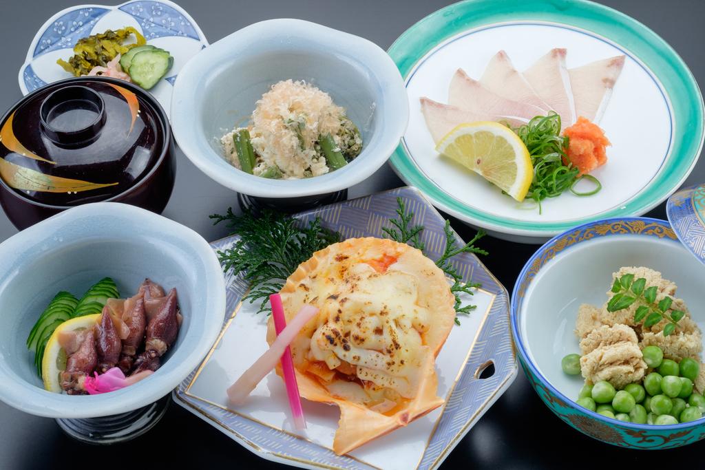 月替わり和食のご夕食