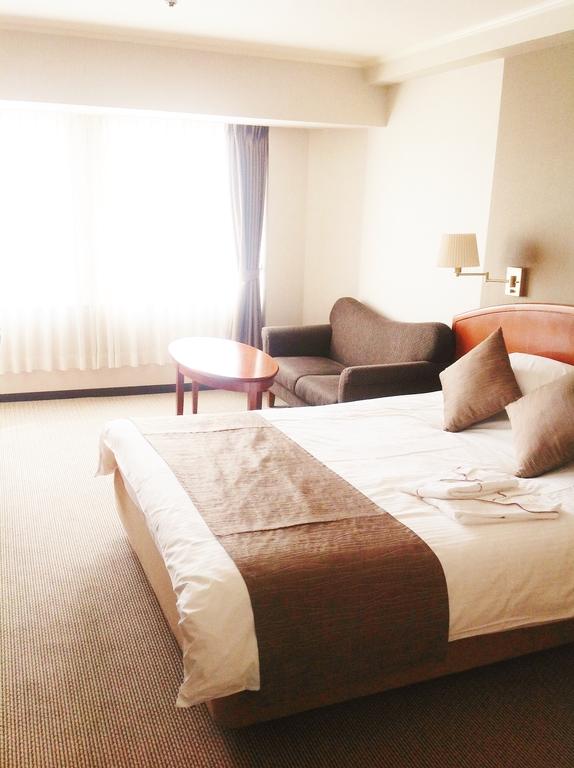 ゆったりベッドのダブルルーム!!
