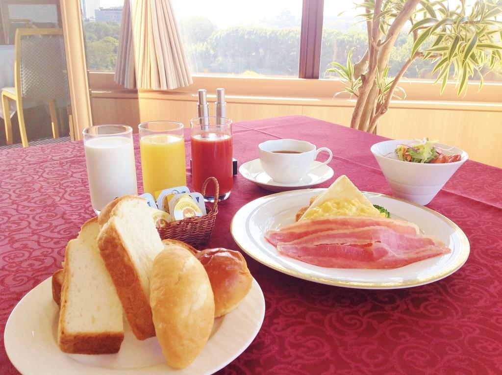 Wester style breakfast