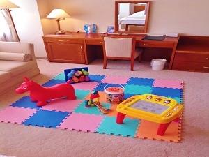 お子様用のおもちゃがいっぱい!