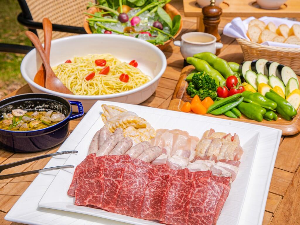 赤崎牛と糸島野菜を堪能!BBQプラン