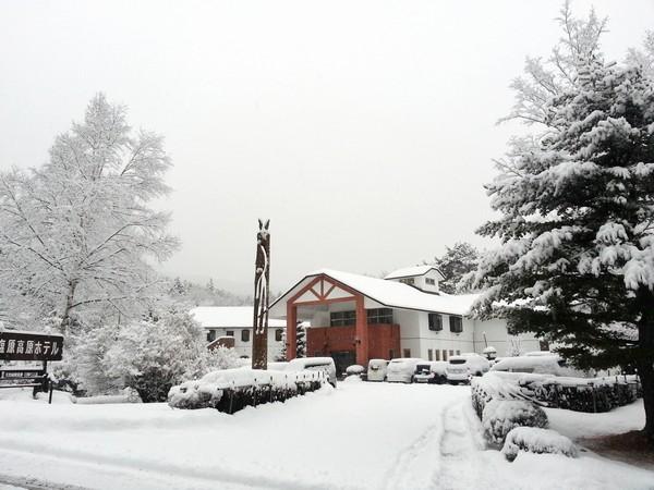 冬の雪景色全景