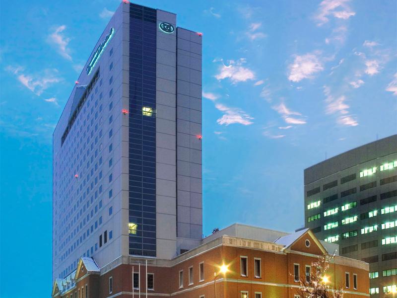 【旭川市内最高層ホテル】館内3店舗レストラン、バー、スパなど充実の設備