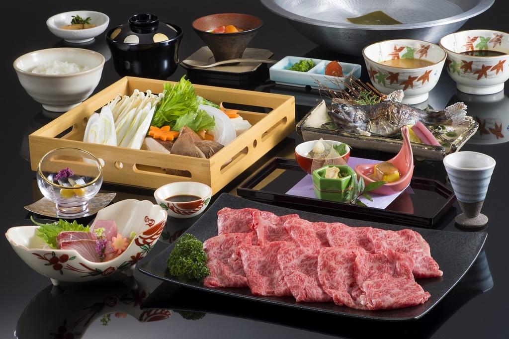 世界のブランド「松阪牛」をしゃぶしゃぶでご堪能下さい