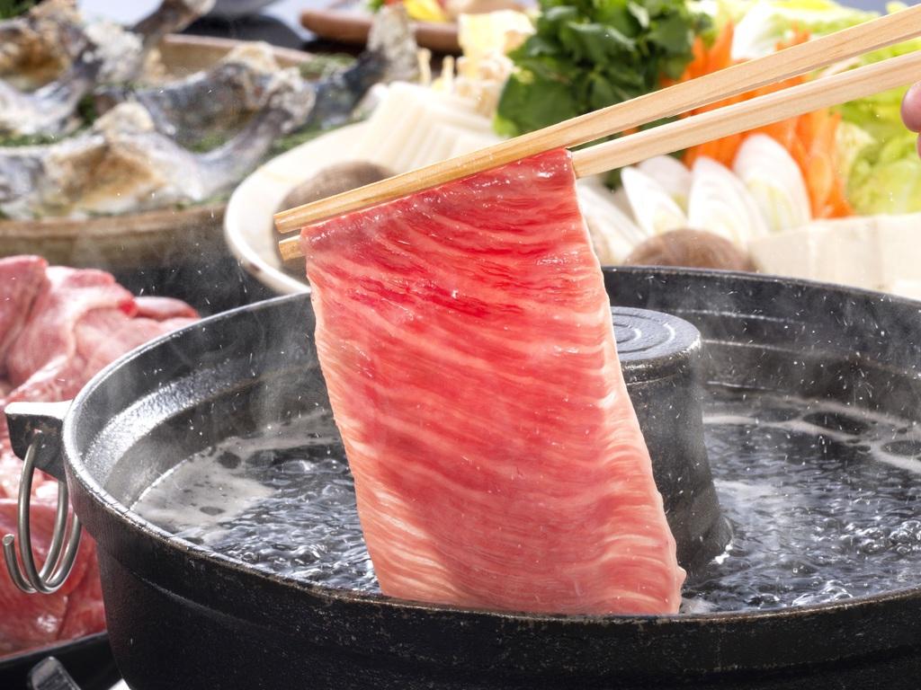 脂ののった「松阪牛」は絶品です
