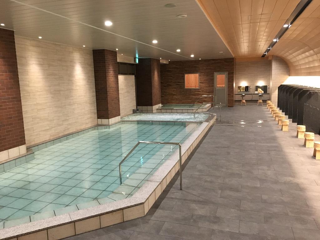 新設大浴場