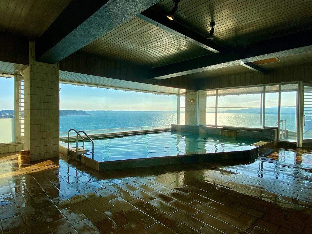 露天風呂付パノラマ展望大浴場