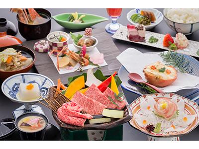 佐賀牛メインの会席料理