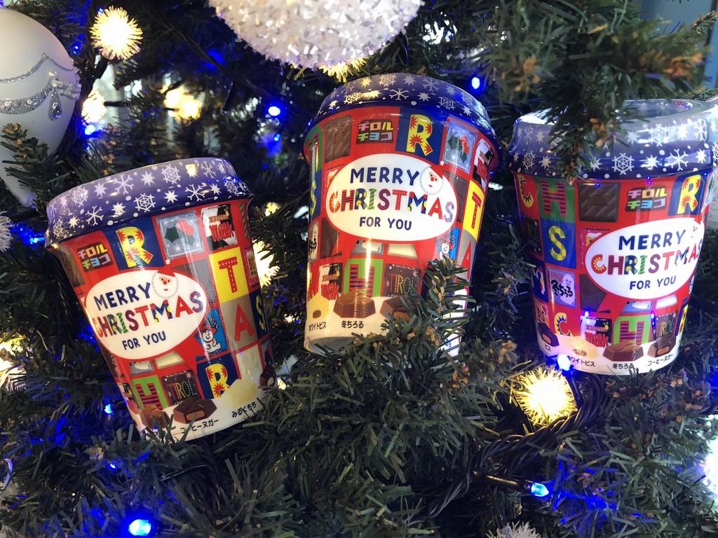 チロルチョコ(クリスマスパッケージ)