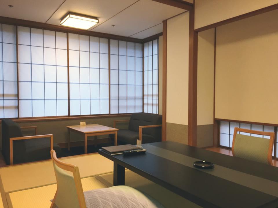 緑山亭 和室 【禁煙室】 完全な禁煙室です。