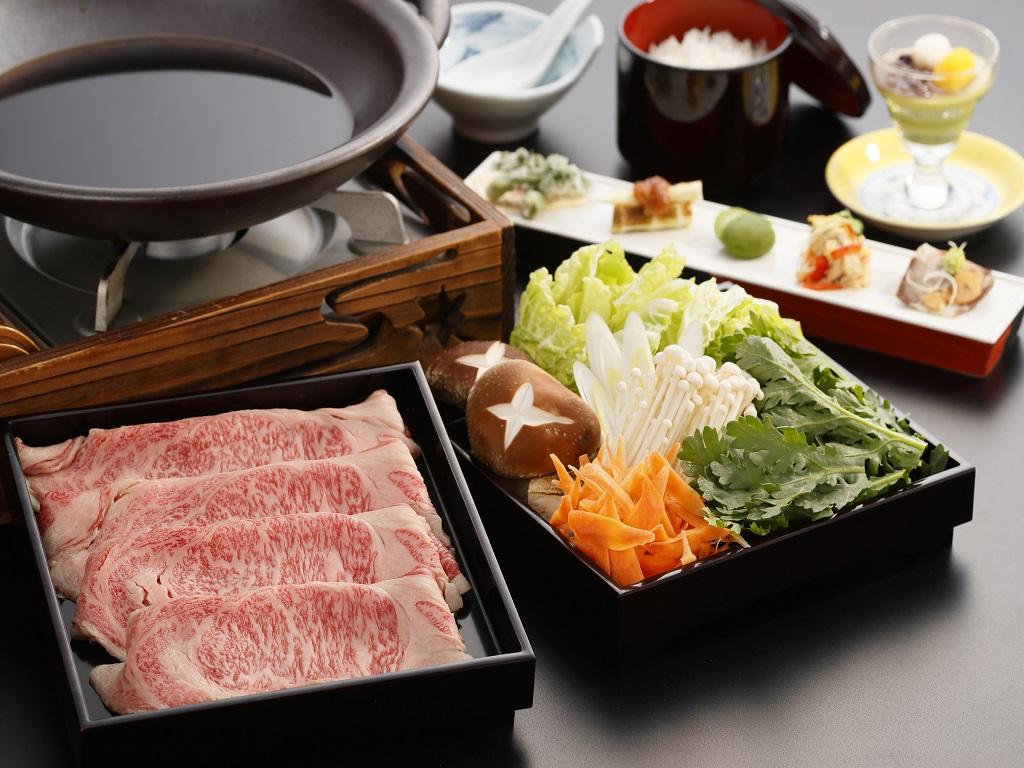 牛肉のすき焼き御膳!