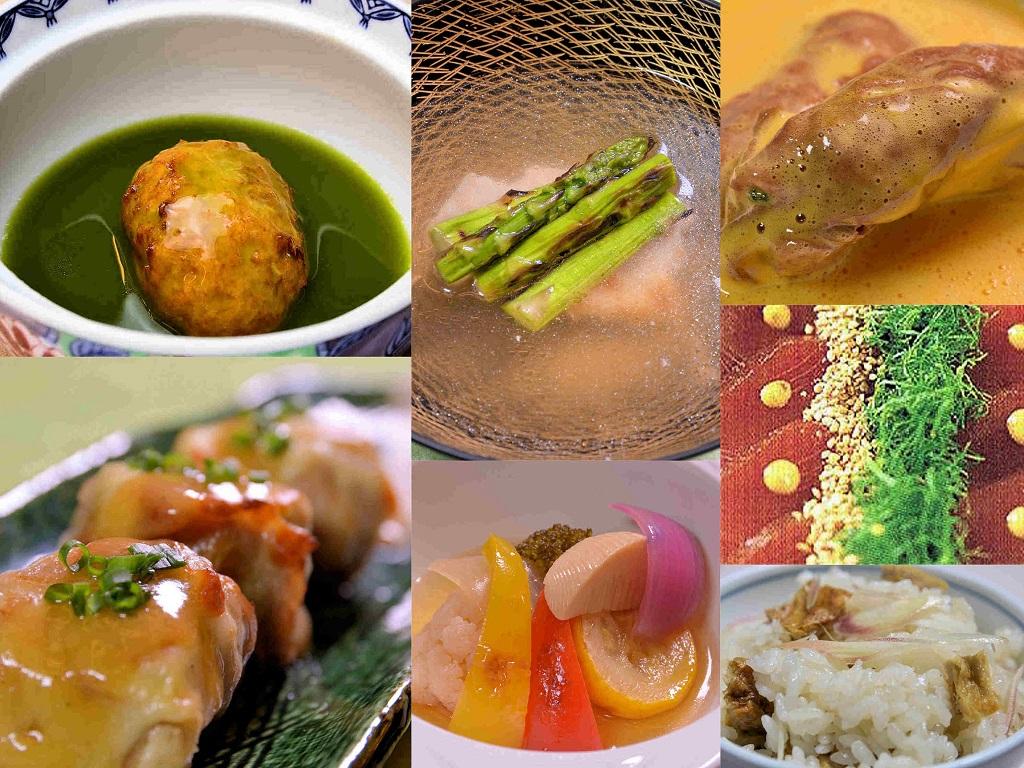 七皿完結料理一例