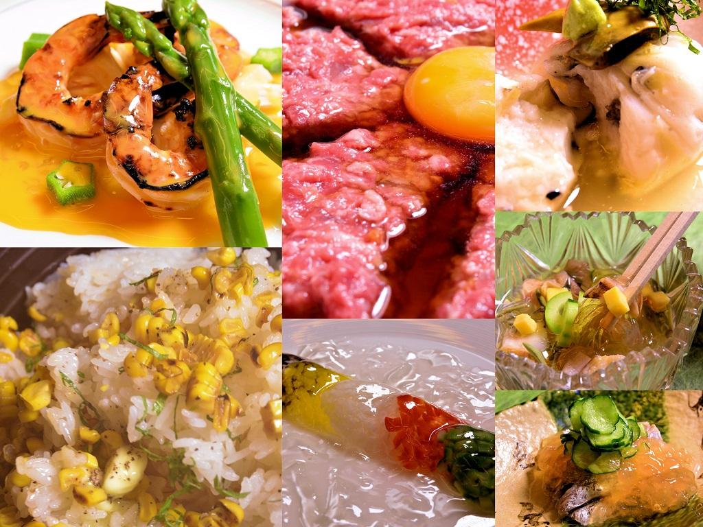 6月30日より提供「夏座敷の膳」
