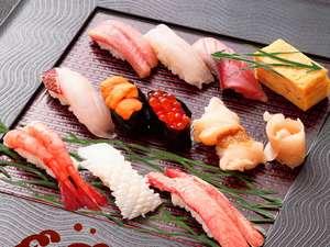 特上寿司10貫+お椀付
