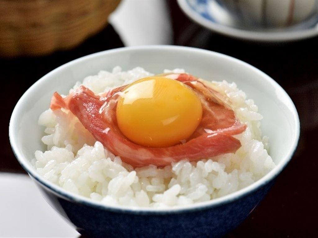 究極の卵かけご飯!
