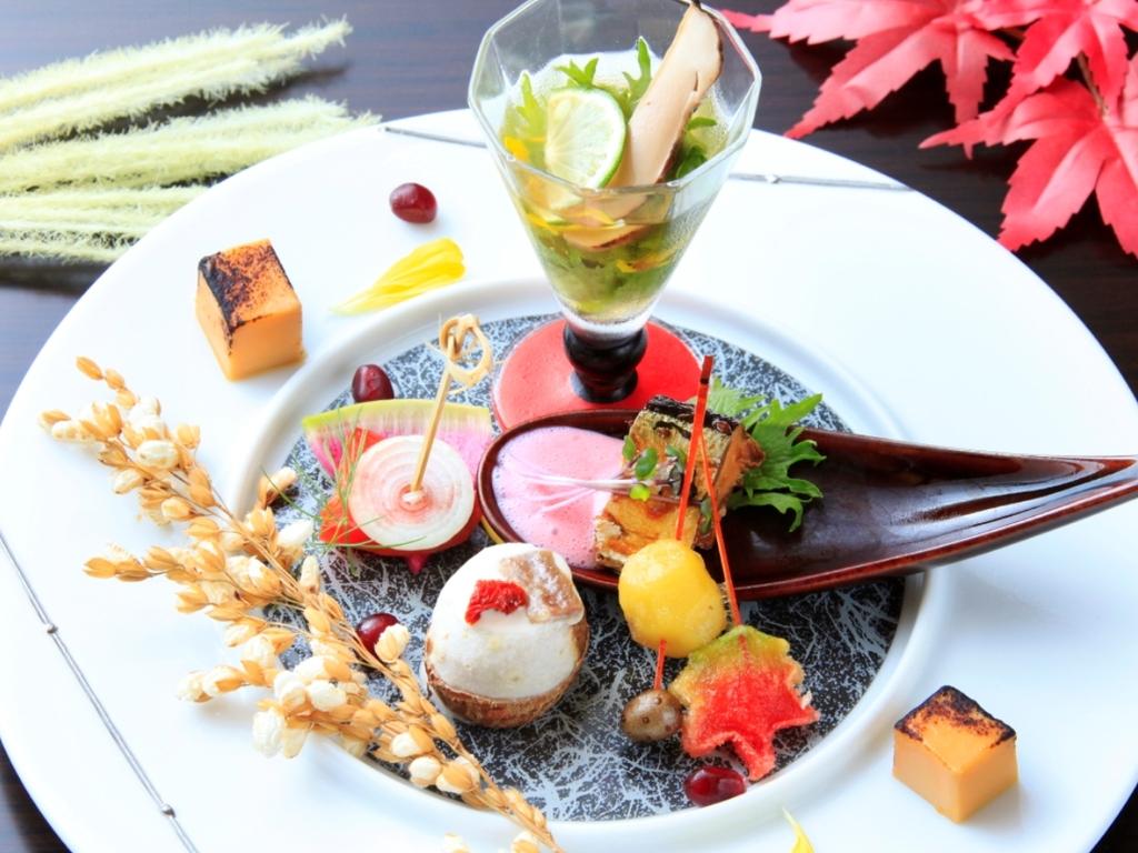 【ご夕食】秋の会席 ※イメージ