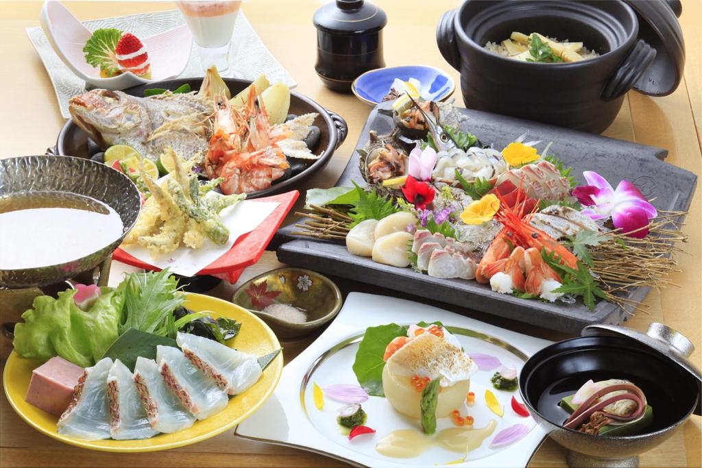 ≪海風会席≫淡路島の食材をきっちり活かしてます