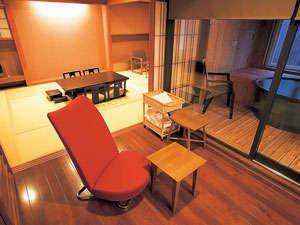 和房「雪花」客室の一例。