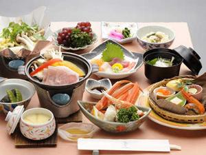 お部屋食の和食膳一例