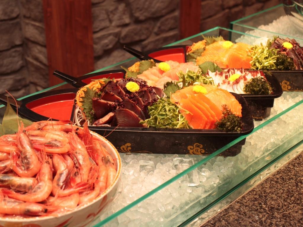 ダイニングHINNAの森 夕食ビュッフェ 一例
