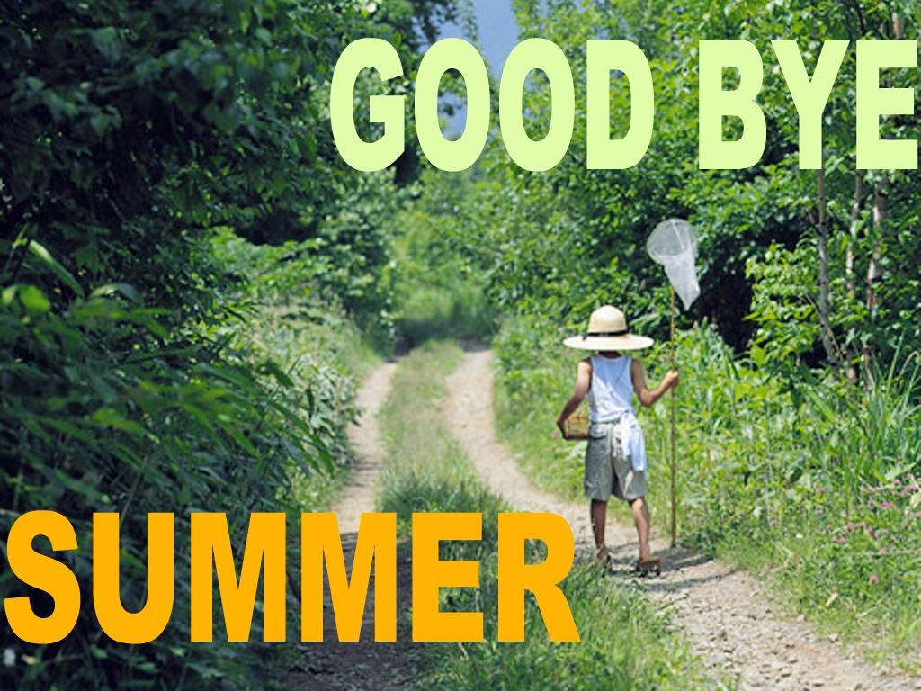楽しかった夏の締めくくりに・・・