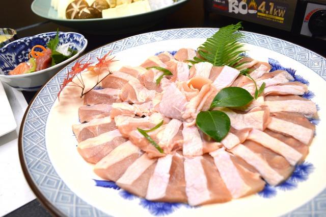 上林鶏の水炊き/すき焼き