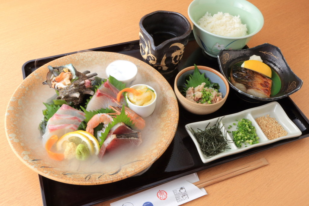 長崎県産鮮魚の出汁茶漬け定食