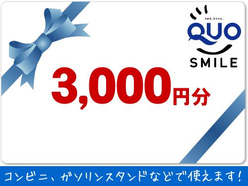 QUOカード3000