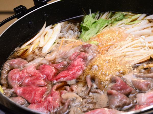 前沢牛すき焼き
