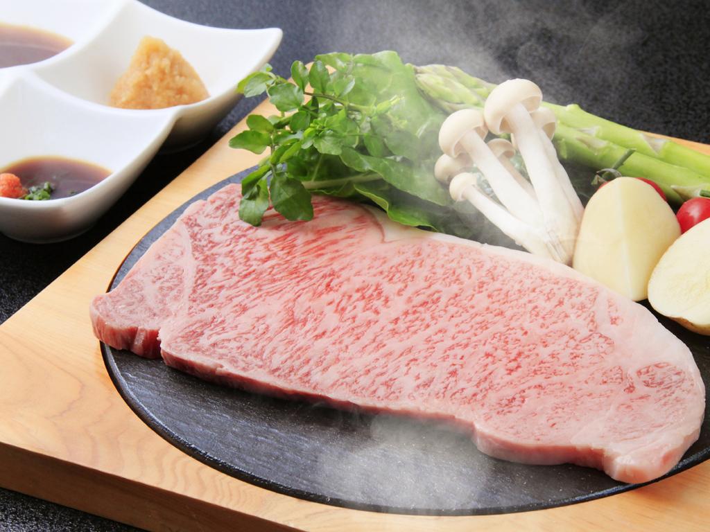 前沢牛ステーキ(イメージ)