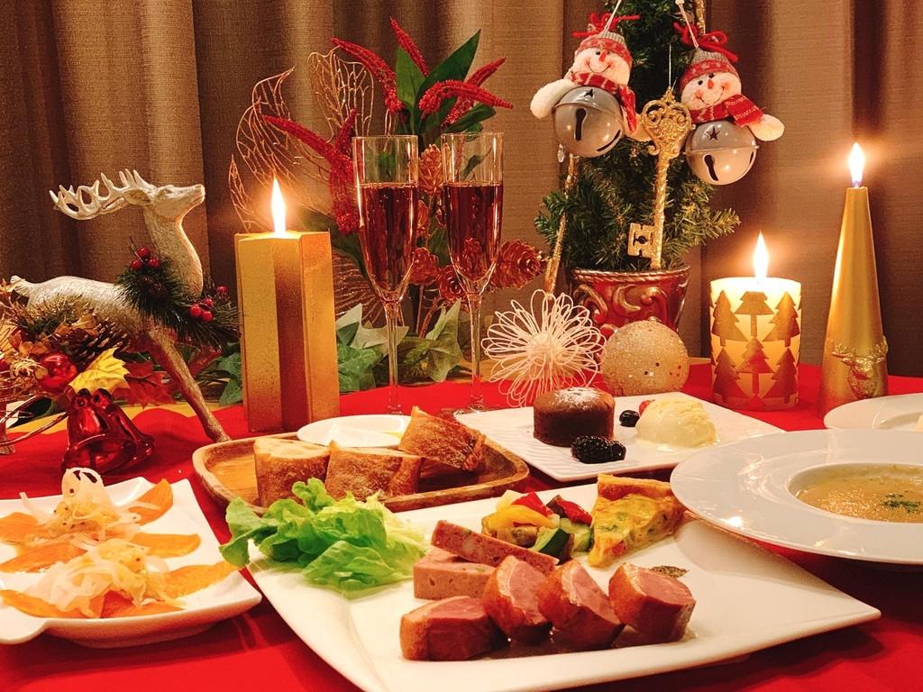 クリスマス特別ディナー(イメージ)
