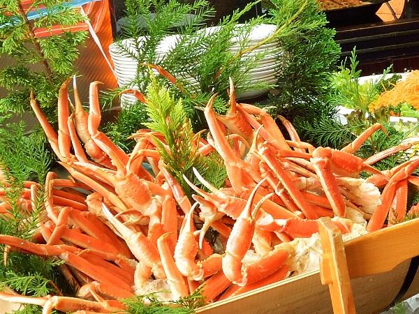 特別価格でずわい蟹を食べ放題!