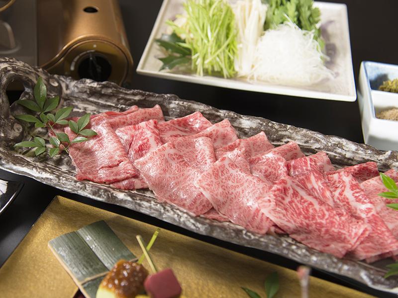 上質な飛騨牛をさっぱりと食す贅沢なお料理