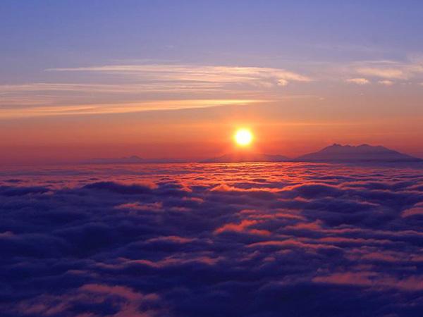 【津別峠からの雲海】