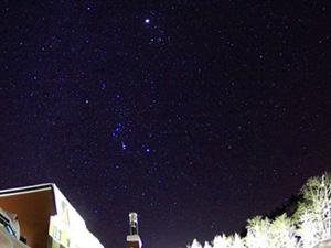 冬の森つべつ・星空