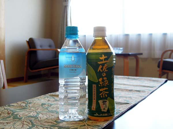 【嬉しい特典】土佐の緑茶&ミネラルウォーター♪