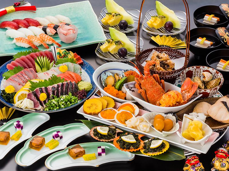 高知県の郷土料理【皿鉢料理】でお正月を満喫ください。