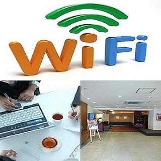 全室Wifi完備♪