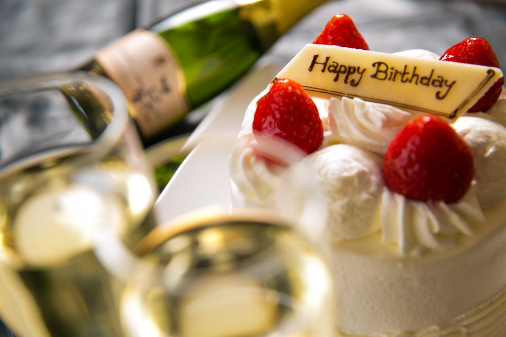 記念日にはケーキでお祝い